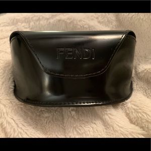 Fendi Sunglass Case Black great for all sizes